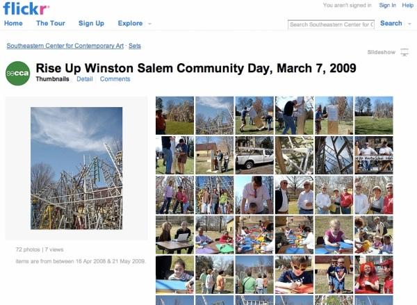 SECCA flickr page