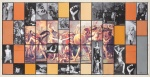 Anne Kesler Return of the Sabine Women Shields 2000 Collage Study