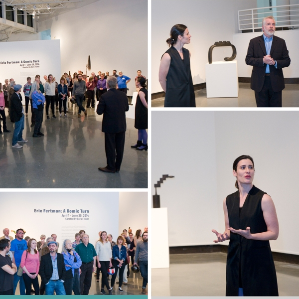 Opening reception remarks at SECCA | Winston-Salem Contemporary Art