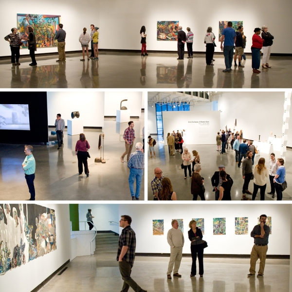 Opening reception at SECCA | Winston-Salem Contemporary Art
